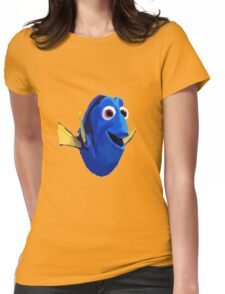Finding Dory - Painted Design Womens Fitted T-Shirt