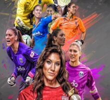 Hope Solo (From University of Washington to Seattle Reign + National Team) Sticker