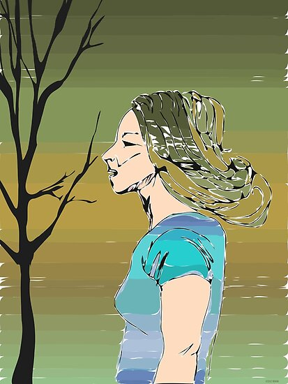 Earth Girl by CDCcreative