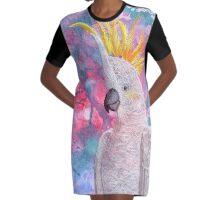 Cheeky Graphic T-Shirt Dress