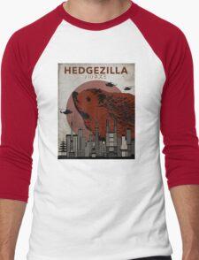 Rare Hedgezilla movie poster. Men's Baseball ¾ T-Shirt
