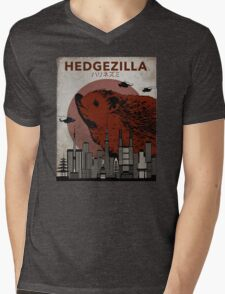 Rare Hedgezilla movie poster. Mens V-Neck T-Shirt