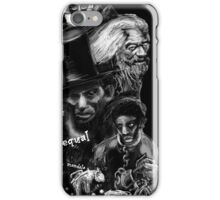 """If slavery is not wrong, nothing is wrong."" iPhone Case/Skin"