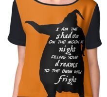 Oogie Boogie - I Am The Shadow On The Moon Chiffon Top