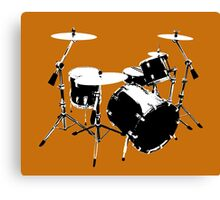 Drumkit (front view) Canvas Print