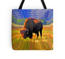 Plains Bison Tote Bag