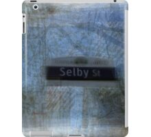 Selby Street Sign Toronto iPad Case/Skin