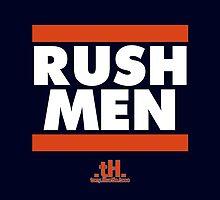 Rush Men Galaxy Case by tony.Hustle.tees ®
