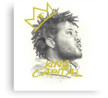 KING CAPITAL Canvas Print