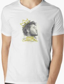 KING CAPITAL Mens V-Neck T-Shirt