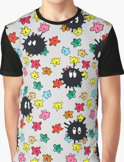 Soot Sprites with Star Candy Graphic T-Shirt