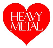 Heavy Metal Love Photographic Print