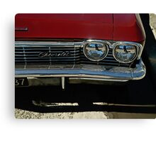 The Eyes of a Chevrolet  Canvas Print