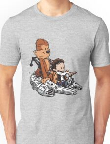 Chewie And Han Calvin And Bobbes Unisex T-Shirt