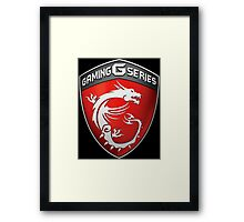 MSI Gaming Framed Print