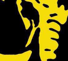 Mighty Morphin Power Rangers Black Ranger Symbol Sticker