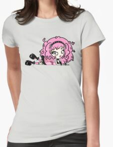 Cotton Candy Girl 2 by Lolita Tequila Womens Fitted T-Shirt