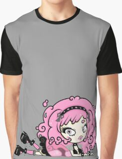 Cotton Candy Girl 2 by Lolita Tequila Graphic T-Shirt