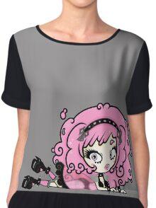 Cotton Candy Girl 2 by Lolita Tequila Chiffon Top