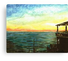 Ionian Sea Zanti Greek Island Canvas Print