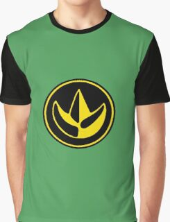 Mighty Morphin Power Rangers Green Ranger Symbol Graphic T-Shirt