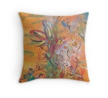 Indian Memories  Throw Pillow