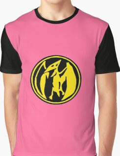 Mighty Morphin Power Rangers Pink Ranger Symbol Graphic T-Shirt