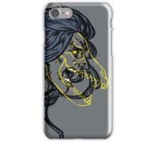 Saix- Wolf Skull iPhone Case/Skin