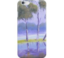 Red River Gums on the mashlands of the Murray River iPhone Case/Skin