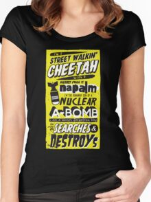 Search & Destroy Women's Fitted Scoop T-Shirt