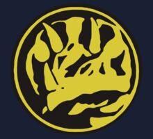 Mighty Morphin Power Rangers Blue Ranger Symbol One Piece - Long Sleeve