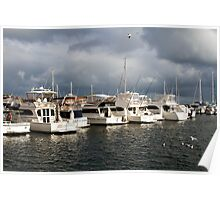 Hillarys Boat Harbour Poster