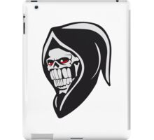 Death hooded sweatshirt evil iPad Case/Skin
