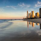 Surfers Paradise Sunset by D Byrne