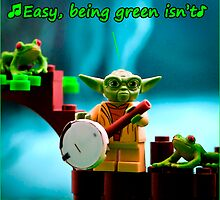 Greenin' ain't easy by monkeyshrike