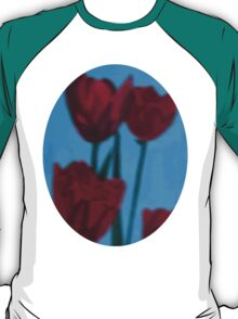 tulips in the fog T-Shirt