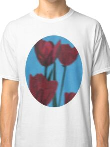 tulips in the fog Classic T-Shirt