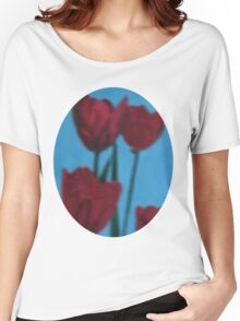 tulips in the fog Women's Relaxed Fit T-Shirt