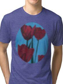 tulips in the fog Tri-blend T-Shirt