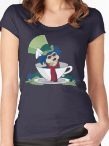 A Nice Cup of Tea Women's Fitted Scoop T-Shirt