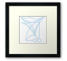 """This House is Protected"" Sigil Framed Print"