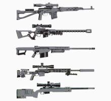 Sniper Rifles by thesamba
