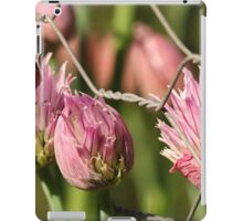 Berry Flowers and Fence iPad Case/Skin