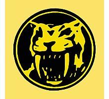 Mighty Morphin Power Rangers Yellow Ranger Symbol Photographic Print