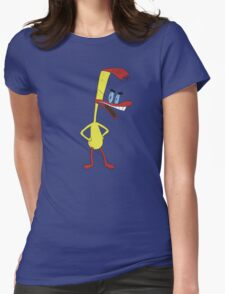 Duckman Womens Fitted T-Shirt