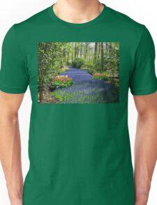 The Flower Lane, 2012, Keukenhof Gardens, Holland Unisex T-Shirt