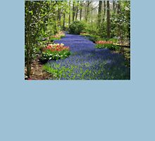 The Flower Lane, 2012, Keukenhof Gardens, Holland Womens Fitted T-Shirt
