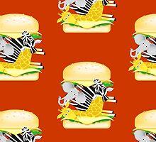 Hamburger Heaven - Savannah Good Times by Brett Perryman