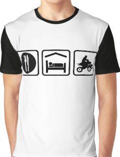 ATV Eat Sleep Repeat Funny Shirt Graphic T-Shirt