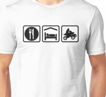 ATV Eat Sleep Repeat Funny Shirt Unisex T-Shirt